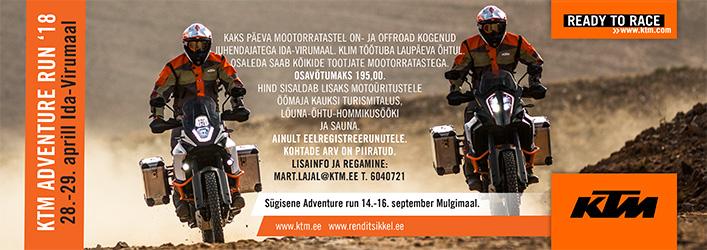 KTM Adventure Run kevad 2018